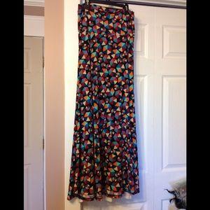 LuLaRoe very long skirt.